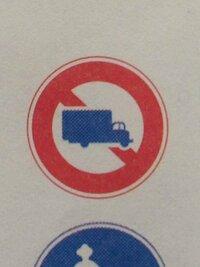 この標識のあるところでは、最大積載量2000キログラムの貨物自動車は通行してもよい。  仮免検定の為に問題集で復習中なのですが、上記の問題の答えについて迷った為、検索をしてみたのですが 知恵袋でも⚪︎と×...
