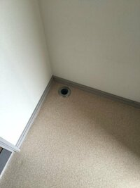 引っ越し先が古いアパートで洗濯機置き場に防水シート?も無く、ホースも穴に挿すだけなのですが使用中に振動で外れそうで心配です。 何か外れないようにする器具や方法などありましたら教えて下さい。