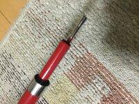 インターラインの中通し竿が四季の釣りで当たりましたが、使い方が謎でございます。 穂先が出ませんがこういうものですか。 糸の通し方は知ってます