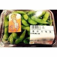 冷蔵庫に惣菜の枝豆があるのですがどうやって温めればよいですか?トースターにアルミホイルを敷いてできますか?