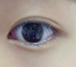 する 黒目 を 大きく