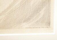藤田嗣治の作品  当方1点だけ藤田嗣治の作品を持っているのですが サイン等が一切無く、エッチングされた紙の角に画像の様な文字があります。 これは一体何でしょうか。 サインと見なすものなのでしょうか。