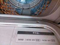 洗濯機の蓋のパッキン部に洗剤が入り込んでしまったのですが、掃除方法はありますか?