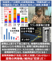 『廃炉費の国民負担8兆円超! 原発のせいで電気代が下がらない? 動画』 2016/9/24  ⇒ 「原発のコストは安い」というのは大嘘だった? 日本の電気料金が高い原因は、やはり「原発」のせいか? ⇒ 今後も、原...
