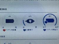 東芝ダイナブックのノートPC(PT55NWP-SHA)を使っています 充電ができなくなって困っています 0%が使用可能です(電源に接続:充電しています) の状態から変わりません バッテリーの状況は写 真の通りです 治すためにはどうすればいいですか? ちなみに使い始めて1年半です