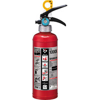 粉末の蓄圧式消火器は  レバーを戻すと消火剤の噴射が止まるのですか? その時の火災規模に必要なだけ噴射して 余分に消火剤をまき散らさないための  使用はできるでしょうか。  使用経験のある方、教えてください。