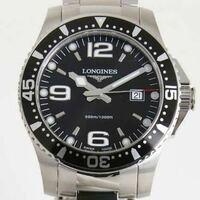 ロンジン ハイドロコンクエスト L3.640.4.56.6 の購入を検討しております。 この時計の評価は如何なものでしょうか?当方大学生です。意見をお聞かせください。
