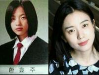 天然美人の評価が高かったハン・ヒョジュの整形Before・After写真。まぁ、韓国人だから当たり前ですけど。 彼女の作品で何が一番良かったですか?