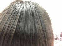 前髪がこうすぐ油っぽくなるのですがどうしたらなおりますか?