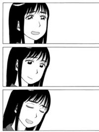 【ネタバレ注意】  それ町のラストで、しずかねーちゃんが見せたこの3つの表情は、それぞれどういう想いを表現してると思いますか?