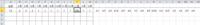 Excel関数について教えてください B~M列にSUMPRODUCT関数が入ってますN列以降に発生した日付を入力し、〇月に何回あったかのデータを取るようにしていますが、1月(K列)の数値が空白セルもカウントしたようになってます 現在のK2は =SUMPRODUCT((MONTH($N2:$JY2)=$K$1)*1)となってます これをどうすれば1月だけを拾うようになりますか?