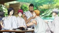 黒子のバスケのEDで洛山のメンバーが京都?の何処かで湯豆腐を食べているカットがありましたが、あれはどこのお店を参考にしているのでしょうか? 回答お願いしますm(_ _)m