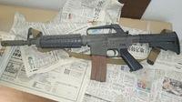 アサルトライフル M16 モデルガンです。 mgc modelguns corporation m16 です。 重いです。 売ったらいくらぐらいしますか?
