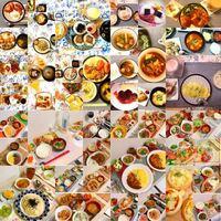 上半分の方の料理と 下半分の方の料理 どちらを食べたいですか?