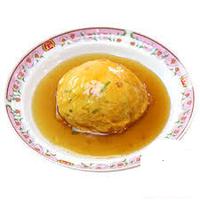 请中国朋友问一下,现代天津实在有天津饭吗? ------------- (中国人の方にお聞きします。天津飯って現代の天津にあるんですか?)