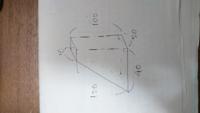 質問ですがこのような台形のダンボールではサイズで言うと20×40×100の160サイズになるのでしょうか?それとも20×40×120となって180サイズになりますか? 縦×横×奥行なのはわかるのですが調べても出てこなくて、、...