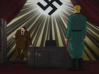 一党独裁体制国家の国家元首の称号と『皇帝』について質問です。 OVA『紺碧の艦隊』で、ヒトラー総統が英国を除いた欧州全土を支配下に置くことを宣言する意味合いで、「ドイツ第三帝国」から「神聖欧州帝国」へと改名し、自ら「皇帝」と名乗るのですが、ここで質問です。  一党独裁体制国家の国家元首が、「総統」や「首相」、「国家主席」から専制政治の象徴である「皇帝」を名乗ることは可能でしょうか?