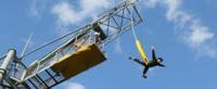 バンジージャンプ事故長崎のバンジージャンプロープの老朽化でしょう原因は