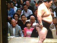大相撲本場所、向こう正面砂かぶり最前列、テレビ露出バッチリ 「張本ポジション」この席で相撲観戦出来るとしたら いくらまでならお金を出せますか?