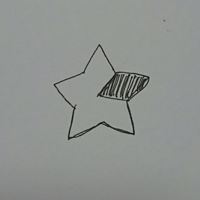 星型クッションの作り方 切りっぱなしの星型クッションを作りたいのですが、一部だけ違う布で作る場合どのように縫ったらいいですか? 普通に1種類の星型クッションは作れます。  星を5つに分けたうちの一つ分だ...