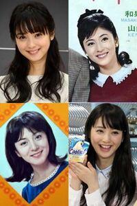 和泉雅子と佐々木希ってちょっと似てませんか?