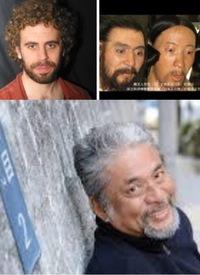 弥生人(写真上右端)は、縄文人(上中央)やイスラエル=ヘブライ人(上左)、それに現代日本人(下)に似ていますか?
