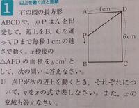 変域の問題の解き方と答えを 教えてください。