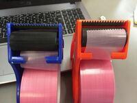100均のテープですが。 使い方は、どちらが合ってますか?