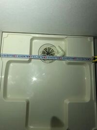 ドラム式洗濯機のサイズに関して質問です! 添付の画像にサイズにあうドラム式洗濯機を教えて下さい。 また、したから蛇口まで、119cmです。