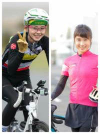 朝比奈彩ちゃんと土屋太鳳ちゃんがロードレースやったら… どっちが勝つと思いますか? ツール・ド・さいたまクリテリウム 1周約3kmを5周で‼