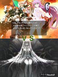 渦動破壊神デモンベインと永遠神剣シリーズの宿命に全てを奪われし少女ミューギィが戦ったらどっちが勝ちますか?