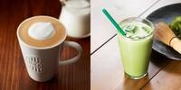 カフェラテと抹茶ラテ、どちらが好きですか?