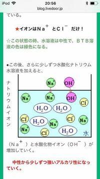この時ナトリウムイオンと塩化物イオンはあわさってすぐに塩化ナトリウムになるんじゃないんですか?