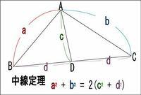 中線定理の良い覚え方はありますか?