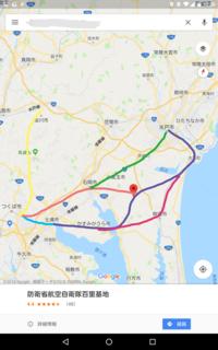 TX茨城県延伸について  個人的な考えはこのような感じです 案によって色分けしましたがいかがですか? (適当に書いています)  石岡~茨城空港は 鹿島鉄道の廃線跡を利用してもいいと思います  紺、ピン...