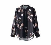 乃木坂の西野七瀬さんが着ていたこの花柄オープンカラーシャツのブランド名教えてください