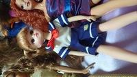 リカちゃんにダイソーエリーちゃん人形の服着せてみましたどうですか?