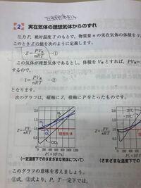 圧縮率因子Zについて教えてください。 - 物理化学の範囲、アトキンス ...