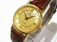 オメガデビル  K18 クロコのベルト レディース  この時計を付けている女性のイメージは どんな感じですか。