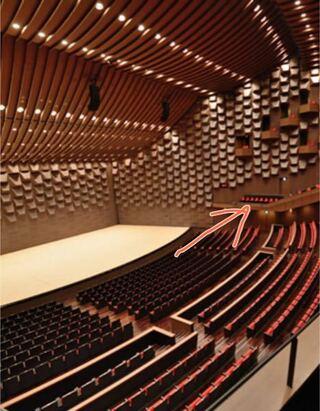 座席 フェスティバル ホール