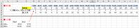 Excel VBA start/endの時刻を15分毎に分割するには  予め決められた基準値が15分毎に用意されています。 (C3:W3セル) 入力欄のstart/endの時刻をもとに表示欄のD4~W4セルに15分毎に分割した数字を反映させ、...