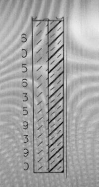 ボーリングデータの柱状図の一部です。図の土質区分を教えていただけませんか。