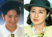 私は、平成生まれです。 きこ様と雅子様は、お若い頃 とても美しかったそうですが、当初は、きこ様と雅子様 どちらが 人気があったんですか?