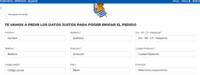 スペインのサイトで買い物をしようとしているのですが、スペイン語がわからなくてこまっています。 なんとか商品はカゴに入れ、個人情報を入力する欄まで来たのですが... スペイン語わかるかたいらっしゃったら教えてほしいです