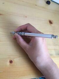 このシャーペンの持ち方は正しい持ち方ですか?