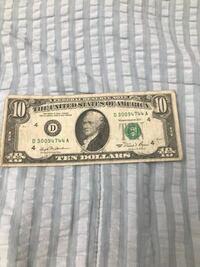 この10ドル札はどれぐらいの価値がありますか?