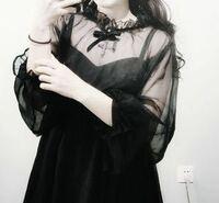 写真のような、メンヘラちっくで、あまりゴスロリ過ぎない感じの洋服ブランド知ってましたら教えてほしいです。