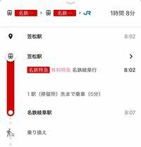 明後日 電車に乗るのですが 笠松駅から岐阜駅間に「有料特急」とあります。全ての車両が有料特急ですか?又一部普通列車なのでしょうか? 全て有料特急の場合当日切符は購入できますか?