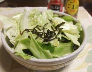 サラダ ごま油 キャベツ