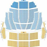 NHK大阪ホールの座席についての質問です! S席とはどの辺りの事なのでしょうか? どなたかわかる方教えて下さい!